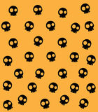 Skull Background. halloween Stock Images