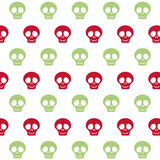 Skull background. Mexico culture. Vector graphic. Mexico culture concept represented by skull background icon. Colorfull and flat illustration stock photography