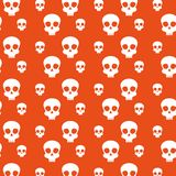Skull background to celebrate day of the dead event. Vector illustration stock illustration