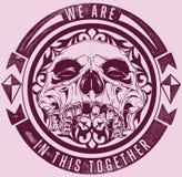Skull band stock illustration