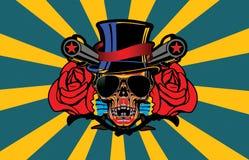 Skull Band Vector Stock Photography