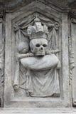 Skull basrelief Royalty Free Stock Photos
