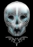 Skull and bat Royalty Free Stock Images