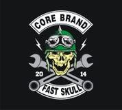 Skull Biker Stock Images