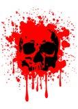 Skull blood Royalty Free Stock Photo