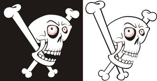 Skull and bones Stock Photography