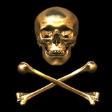Skull and Bones 3D Stock Image
