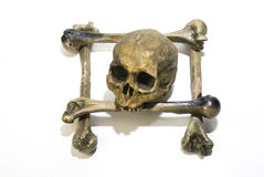 Skull and bones royalty free stock photography