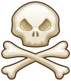 Skull and Bones Royalty Free Stock Photo