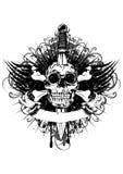Skull and bones Stock Photos