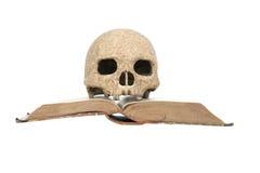 Skull On Book Royalty Free Stock Photo