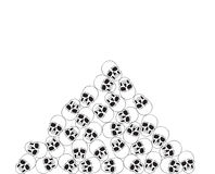Skull bunch Stock Images