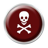 Skull Button Stock Images