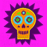 Skull Candy vector illustration Royalty Free Stock Images