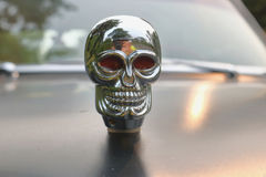 Skull Car Hood Ornament Royalty Free Stock Images