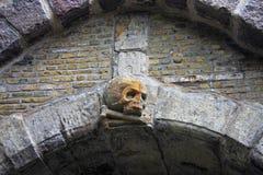 Skull carving Stock Photo