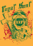 Skull cemetery Royalty Free Stock Photo