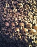 Skull chapel in Poland royalty free stock image