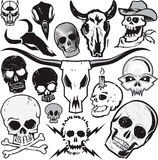 Skull Collection Royalty Free Stock Images