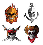 Skull Collection Royalty Free Stock Photo