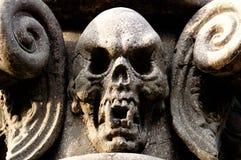 Skull Column Stock Images