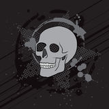 Skull composition Royalty Free Stock Photos
