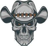 Skull cowboy Royalty Free Stock Photos