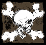 Skull and cross bones Royalty Free Stock Photography