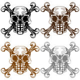 Skull and Cross Bones Stock Photos