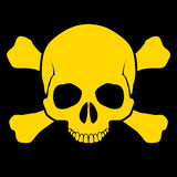 Skull and cross-bones Royalty Free Stock Photography