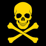Skull and cross-bones Royalty Free Stock Image