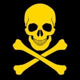 Skull and cross-bones Royalty Free Stock Image