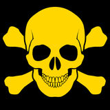 Skull and cross-bones Royalty Free Stock Photo