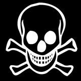 Skull and crossbones Royalty Free Stock Image