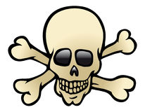 Skull & crossbones Royalty Free Stock Image