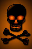 Skull and Crossbones Stock Image