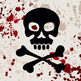 Skull with crossbones Stock Photo