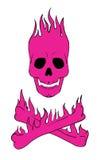 Skull and crossbones. Vector eps vector illustration
