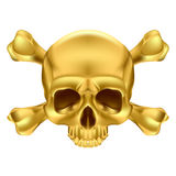 Skull and crossbones Stock Photos