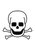 Skull & Crossbones Stock Photography