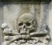Skull and crossbones crossed Royalty Free Stock Images