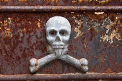 Skull and Crossbones, Recoleta, Buenos Aires Royalty Free Stock Images