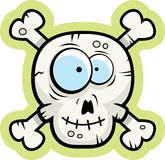 Skull and Crossbones Smiling Stock Images