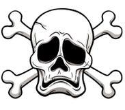 Skull and Crossbones. Vector illustration of Skull and Crossbones Royalty Free Stock Photos