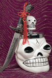 Skull and dagger Royalty Free Stock Image