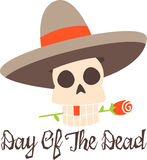 Skull Day Of The Dead Royalty Free Stock Photo