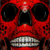 Skull .Day of the dead. Royalty Free Stock Photo