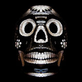 Skull . Day of the dead. Stock Photo