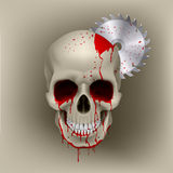 Skull dead Stock Photography