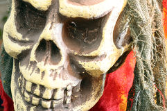 Skull or death head for halloween Royalty Free Stock Photography